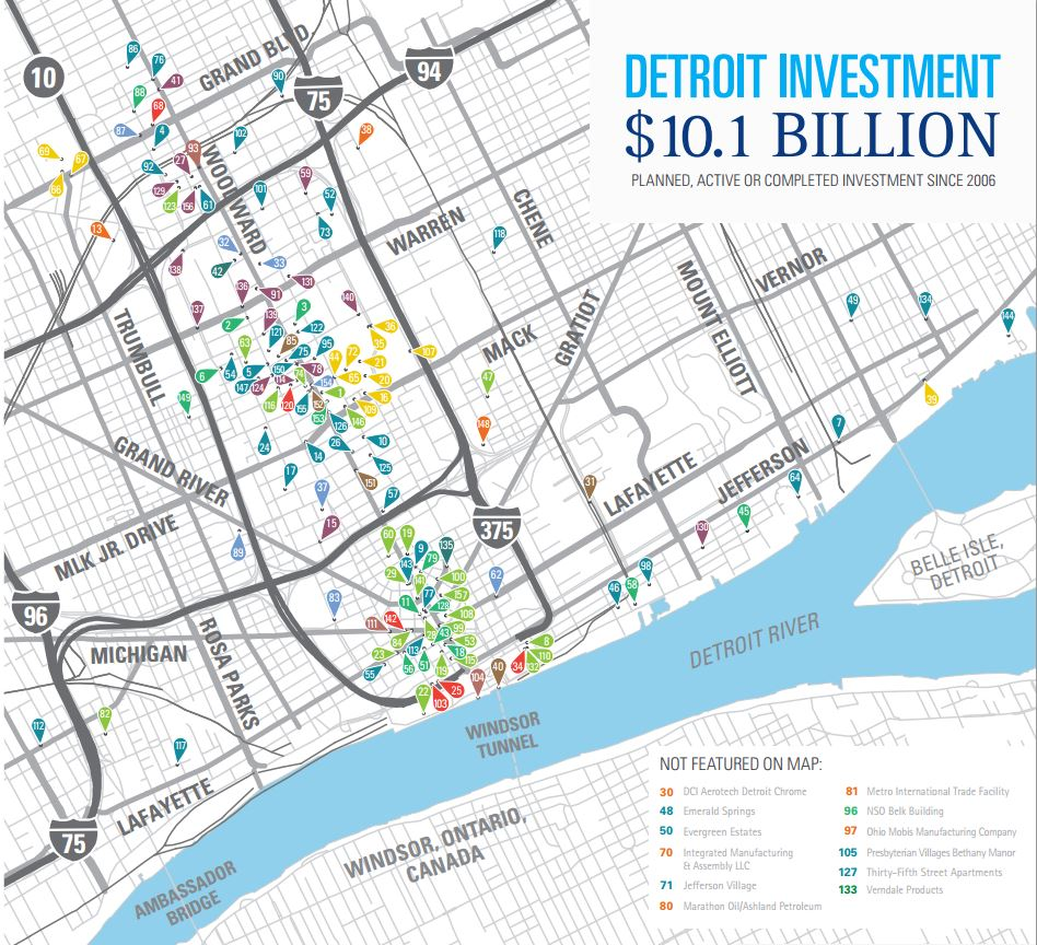 Detroit Investment Map | Detroit Regional Chamber